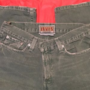 Levi's Green Slim/Straight 514 Jeans 32X30